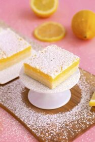 Healthy Lemon Bars Recipe