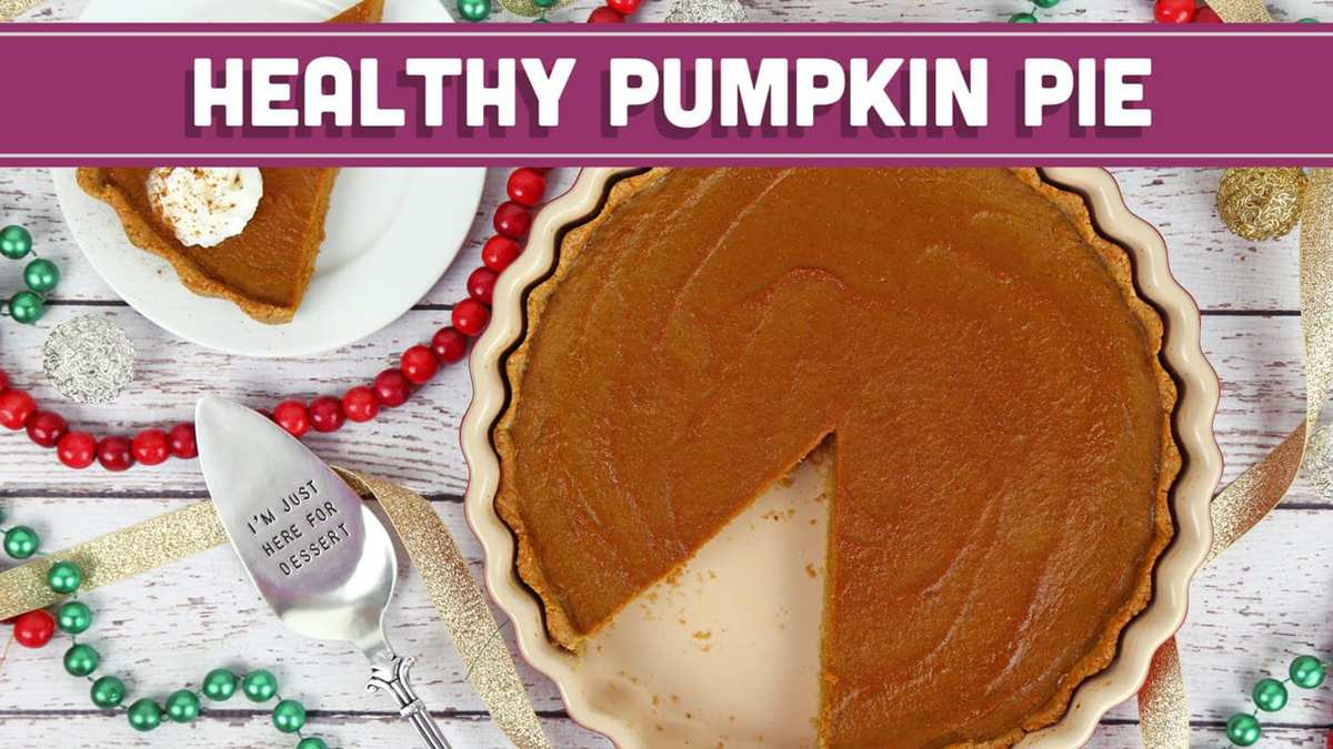 Healthy Pumpkin Pie for the Holidays + ANNOUNCEMENT ...