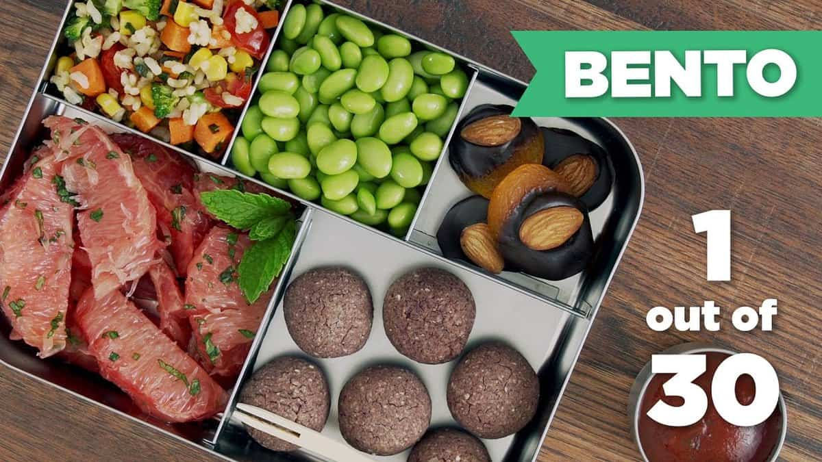 bento box healthy lunch 1 30 vegan mind over munch. Black Bedroom Furniture Sets. Home Design Ideas