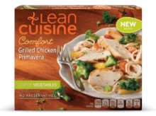 lean cuisine chicken primavera