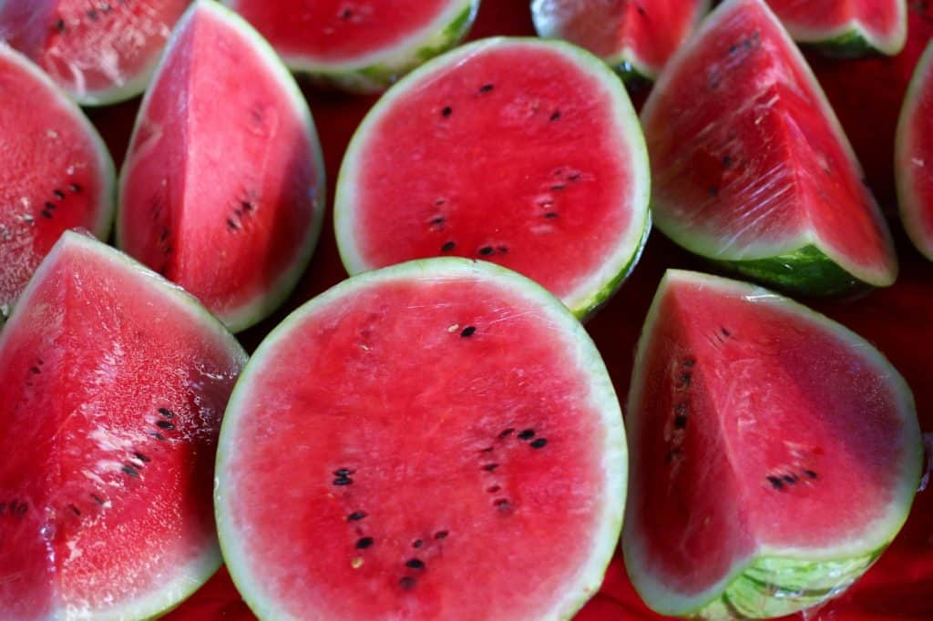 what makes a watermelon sweet