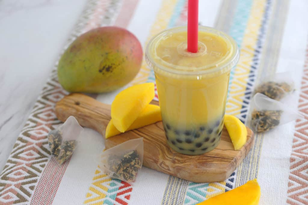 mango green tea boba mind over munch