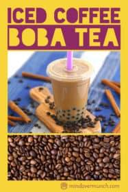 Iced Coffee Boba Tea