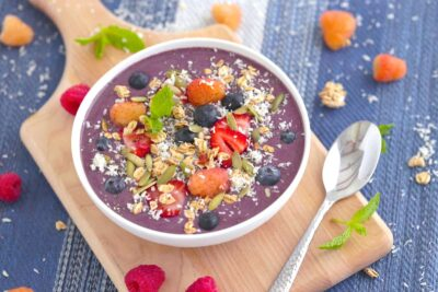 Banana Berry Acai Bowl