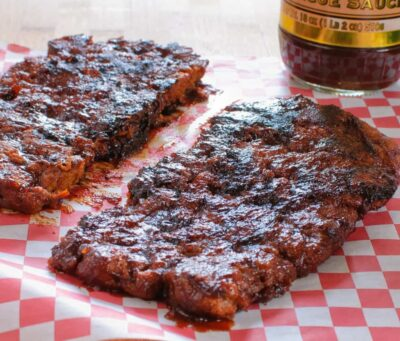 Barbecue Jackfruit Ribs