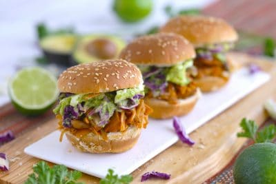 Jackfruit Pulled Pork Sliders