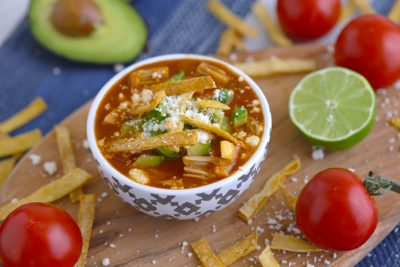 Jackfruit Tortilla Soup
