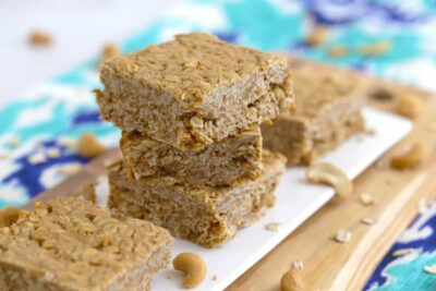 Cashew Butter Squares