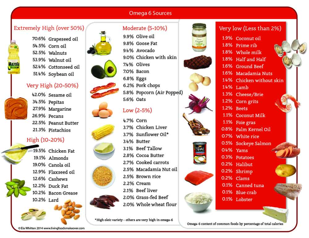 Omega 6 Oils, inflammatory foods to avoid, omega 6 inflammation, omega ratio, sources of omega 6, omega 6 foods that cause inflammation, what causes inflammation