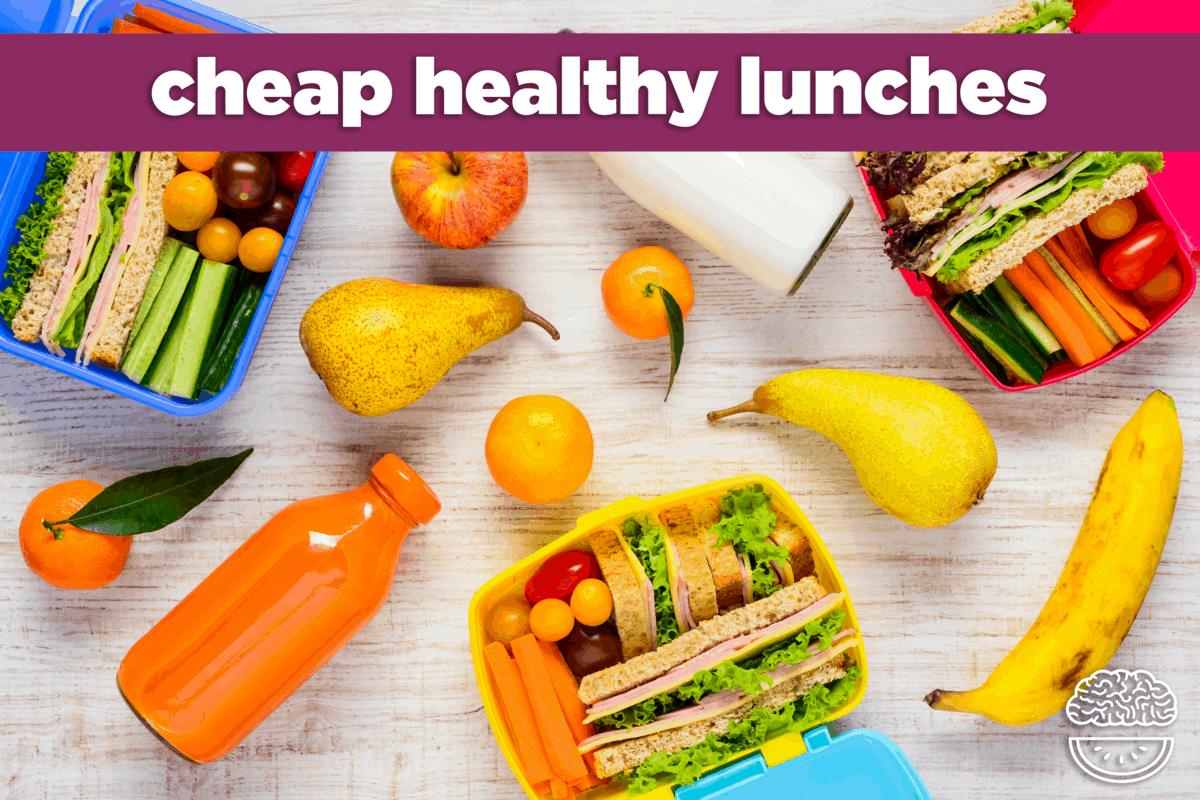cheap healthy lunch ideas: sandwiches & salads | mind over munch