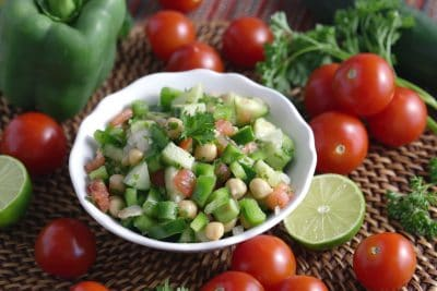 Chickpea Salad, Easy Salad Recipe, easy healthy lunches, cheap easy meals, cheap lunch ideas, light lunch ideas