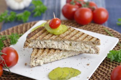 Healthy Tuna Salad Sandwich, Tuna Salad Freezer Sandwich