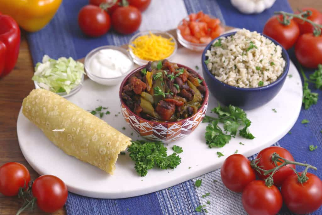 Slow Cooker Fajitas, best slow cooker recipes, vegetarian slow cooker recipes, vegan slow cooker recipes, slow cooker dinner recipes
