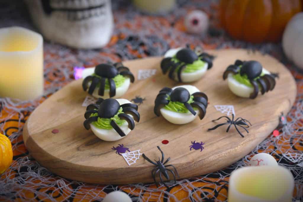rotten spider deviled eggs mind over munch