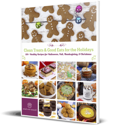 Healthy Holiday Recipes for Christmas, Thanksgiving & Halloween
