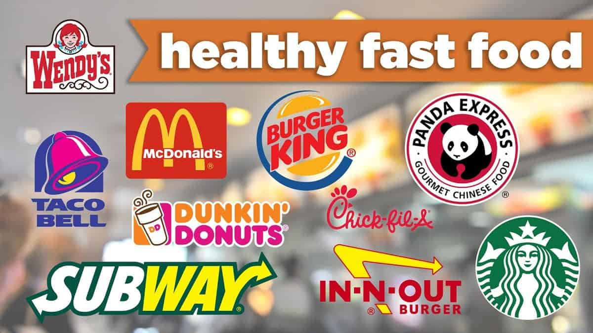 Fast Food Choices Under  Calories