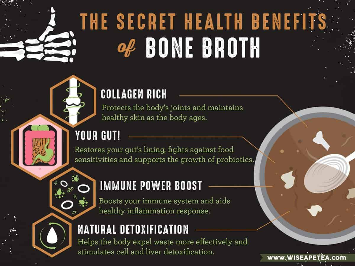 Bone Broth Benefits, bone broth diet, bone broth health benefits, bone broth immune system, bone broth detox