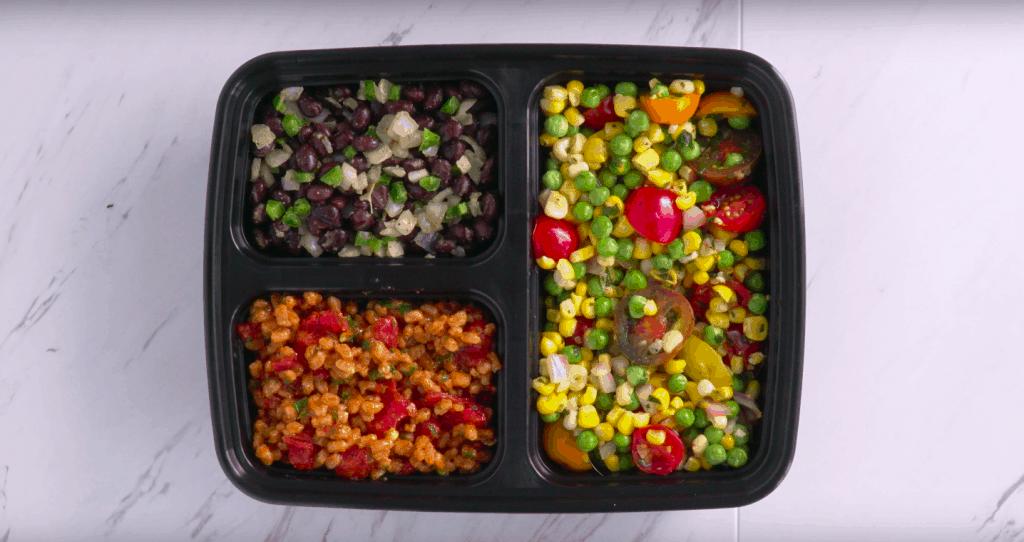 Vegetarian Meal Prep Recipes, vegetarian freezer meals, healthy freezer meals, vegan meal prep recipes