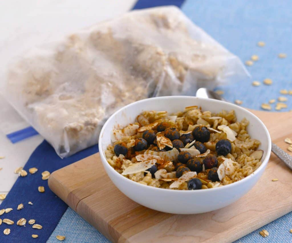 Vegetarian Meal Prep Recipes, vegetarian meal prep breakfast, freezer oatmeal cups, easy vegetarian meals