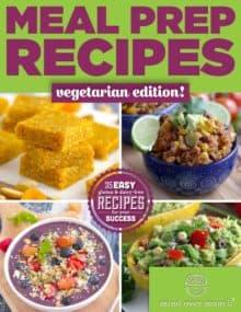 Vegetarian Meal Prep Recipes, easy vegetarian recipes, vegetarian meals, easy healthy vegetarian recipes