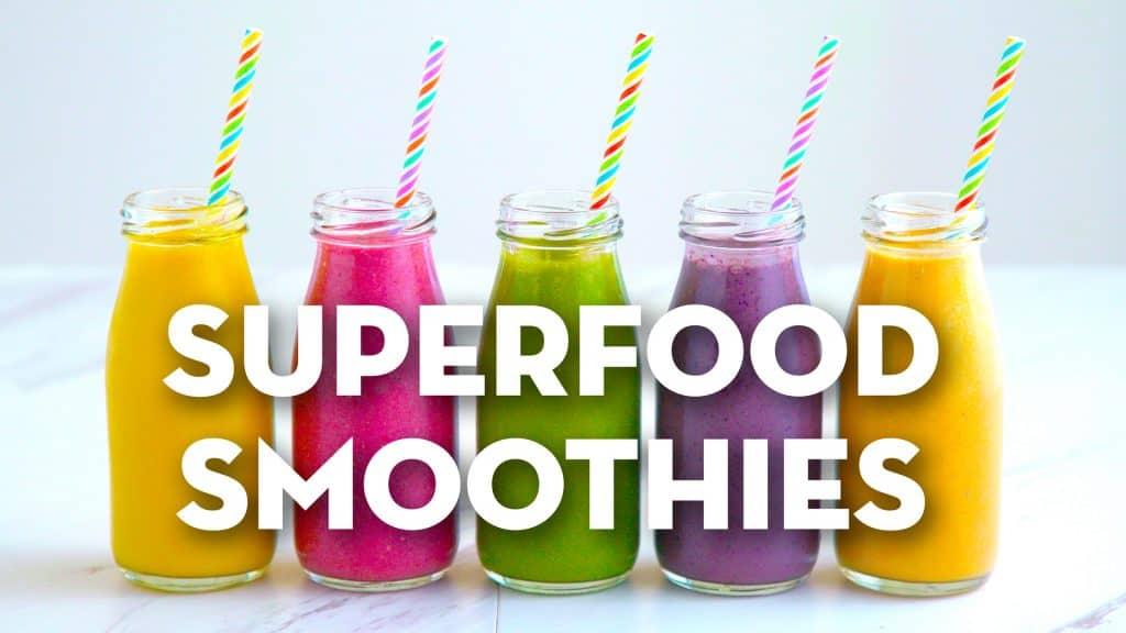 Vegetarian Meal Prep Recipes, vegan smoothie recipes, breakfast smoothies, easy meal prep breakfasts