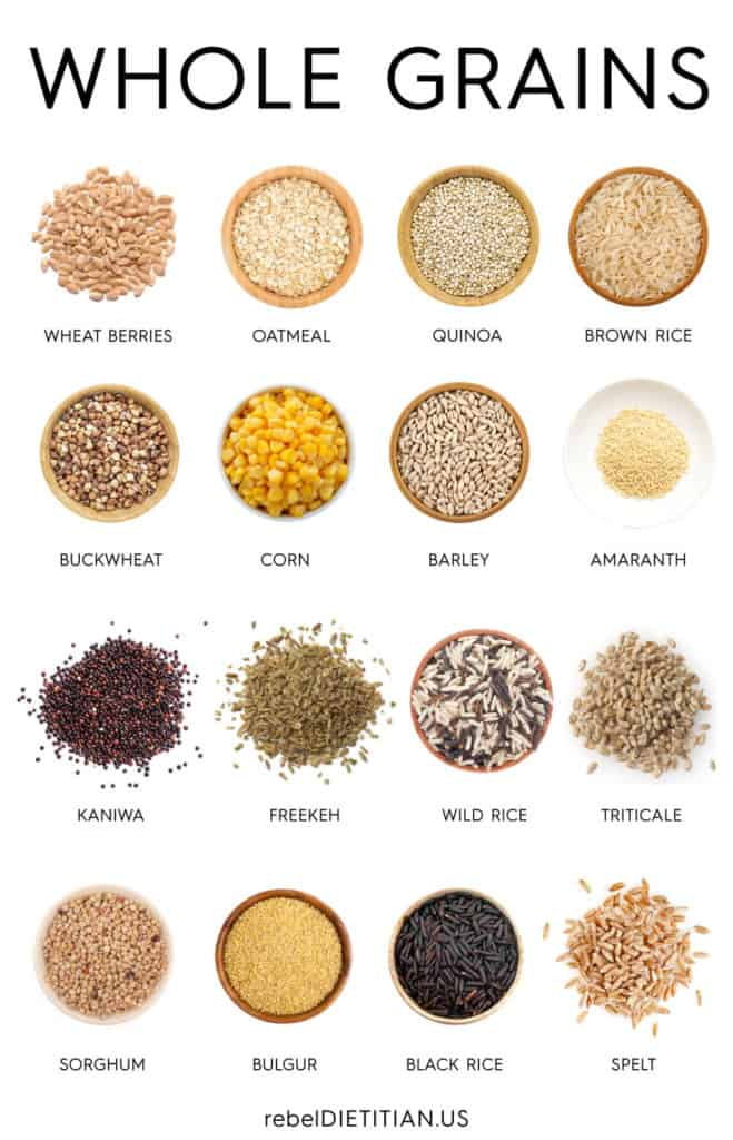 Grain products.