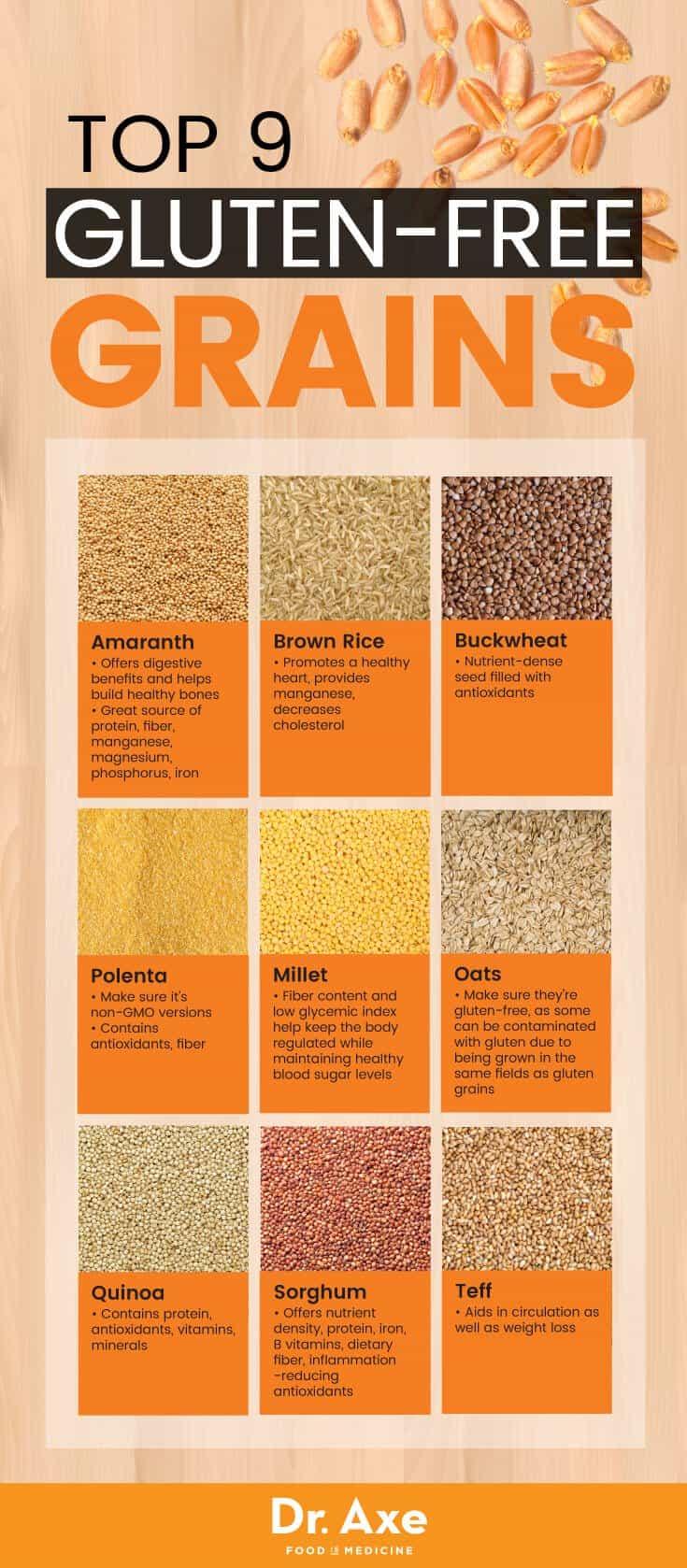 Gluten Free Grains Graphic Mind Over Munch