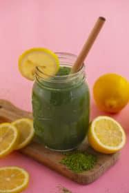 Homemade Matcha Lemonade Recipe