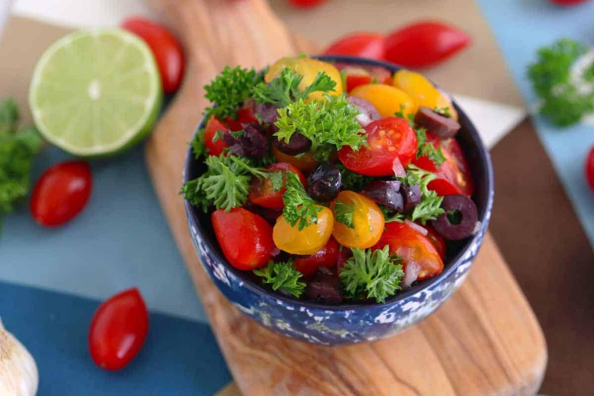 Mediterranean Parsley Salad