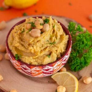 Kid Friendly Hummus without Tahini