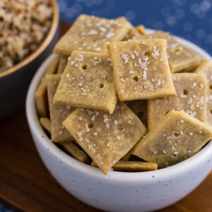 Homemade Quinoa Flour Crackers Recipe
