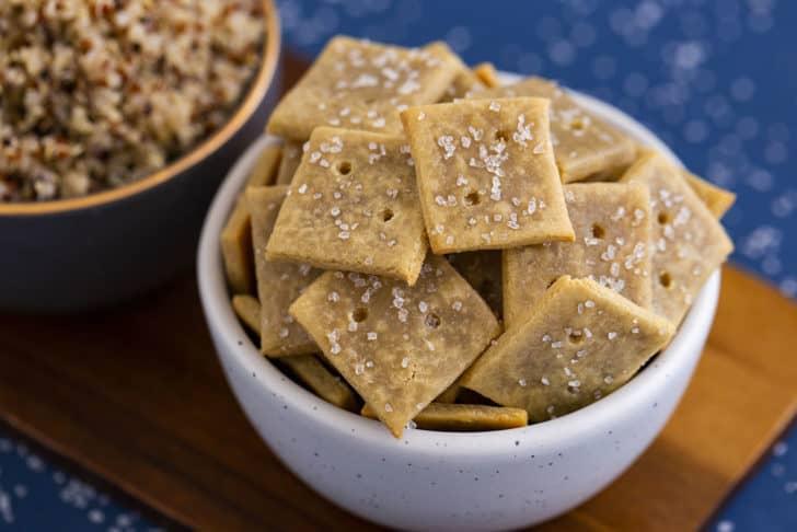Quinoa Flour Crackers