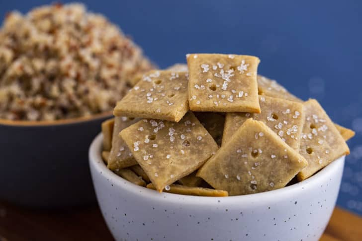 Homemade Quinoa Crackers Recipe