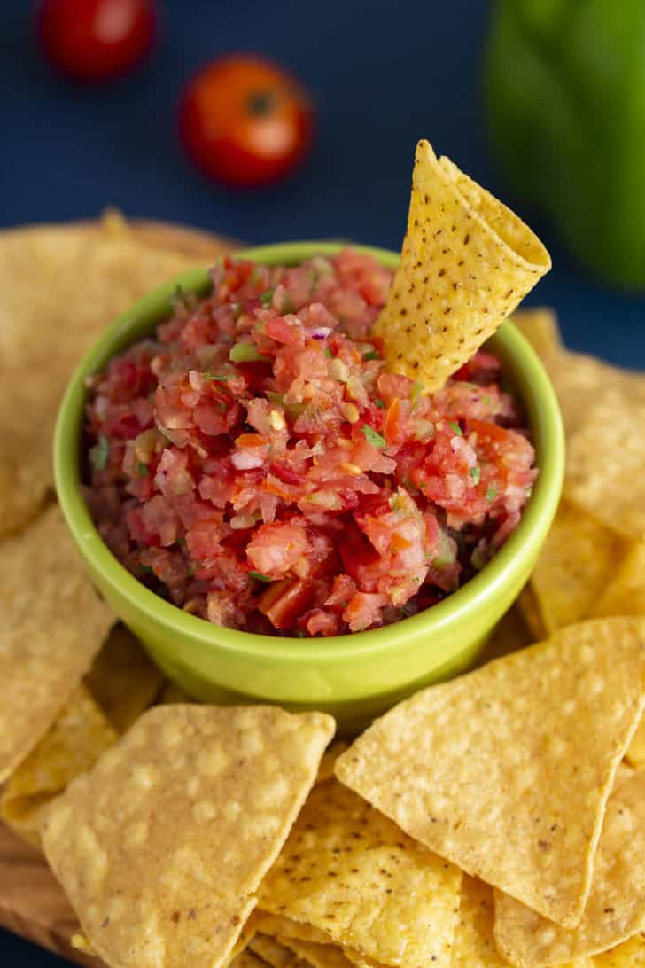 Kid Friendly Salsa without Jalapenos