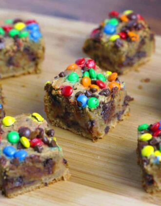 Chocolate Chip Cookie Dough Bars