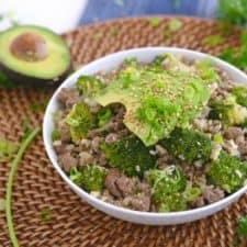 Keto Beef and Broccoli