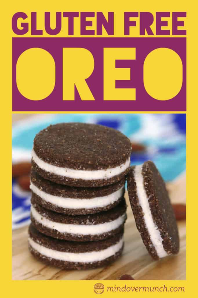 Homemade Low Carb Oreos