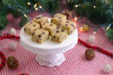 Low Carb Cookie Dough Fudge