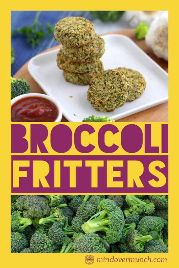 Baked Broccoli Fritters
