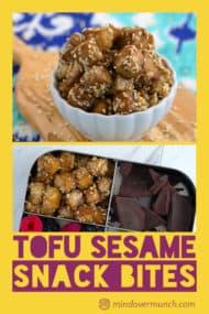 Baked Sesame Tofu