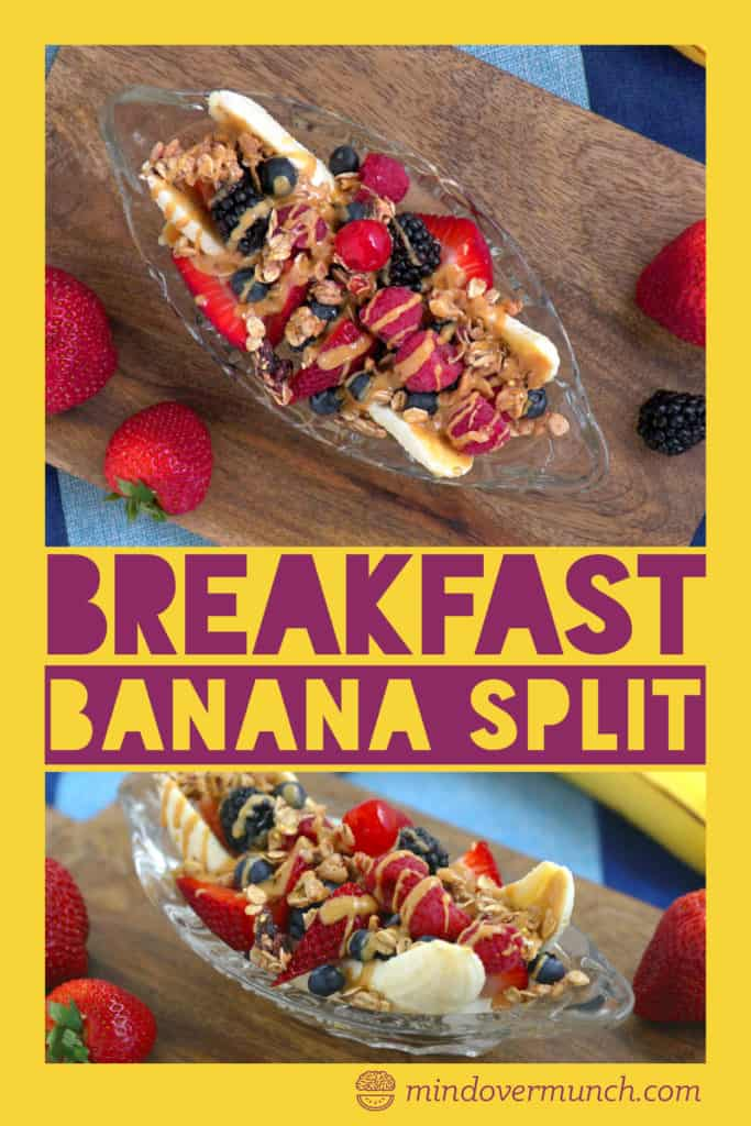 Banana Split Breakfast Parfait