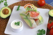 BLT Summer Rolls with Avocado