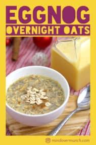 Eggnog Overnight Oats