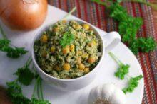 Garlic Chicken Rice Bowl