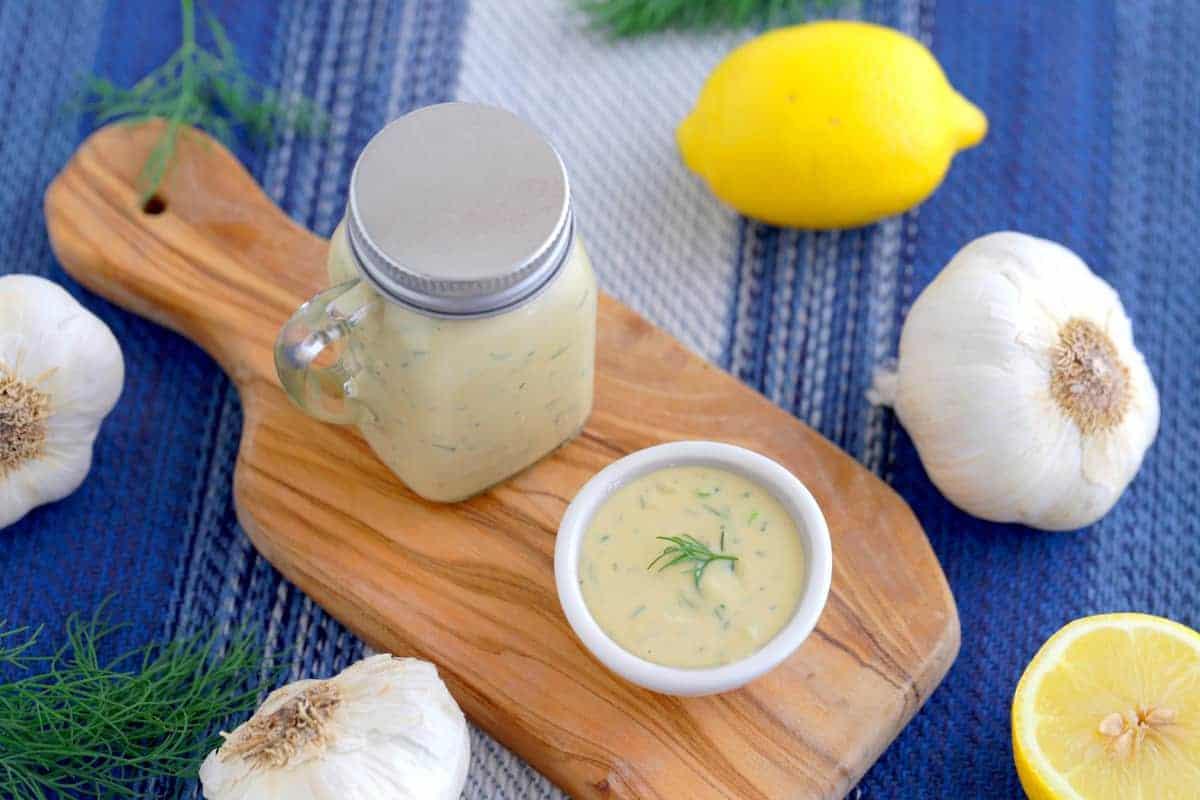 Garlic Dill Sauce