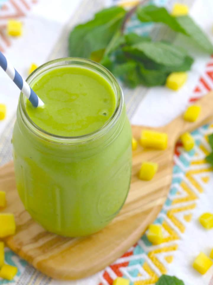 Green Make Ahead Smoothies