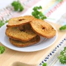 Homemade Bagel Chips