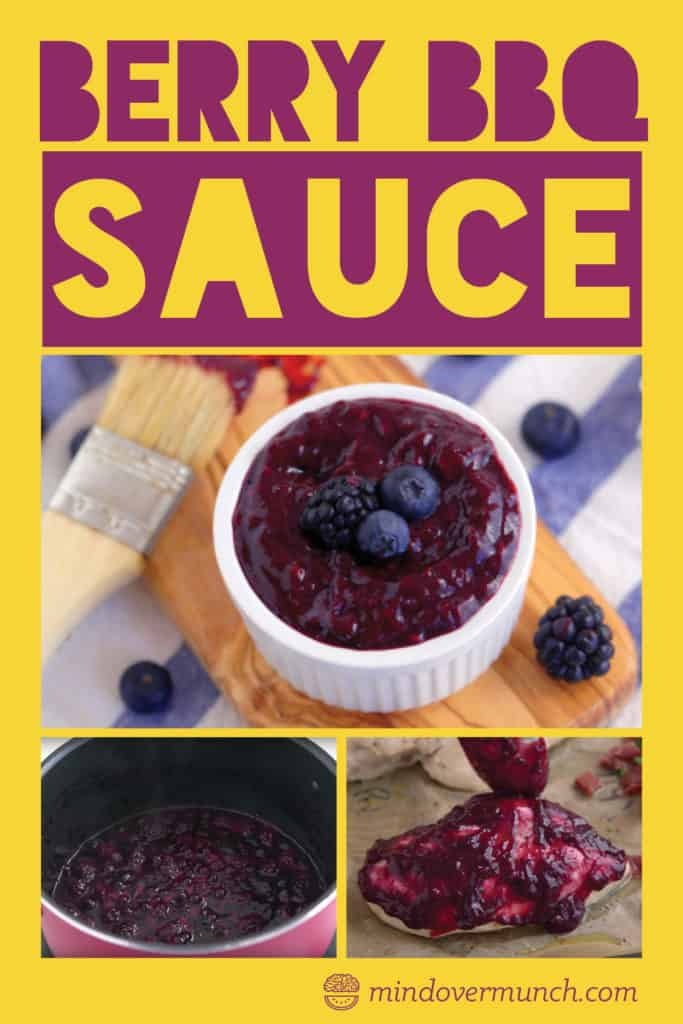Homemade Berry BBQ Sauce