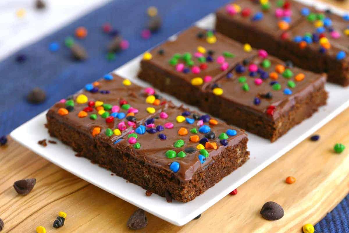 Homemade Cosmic Brownies