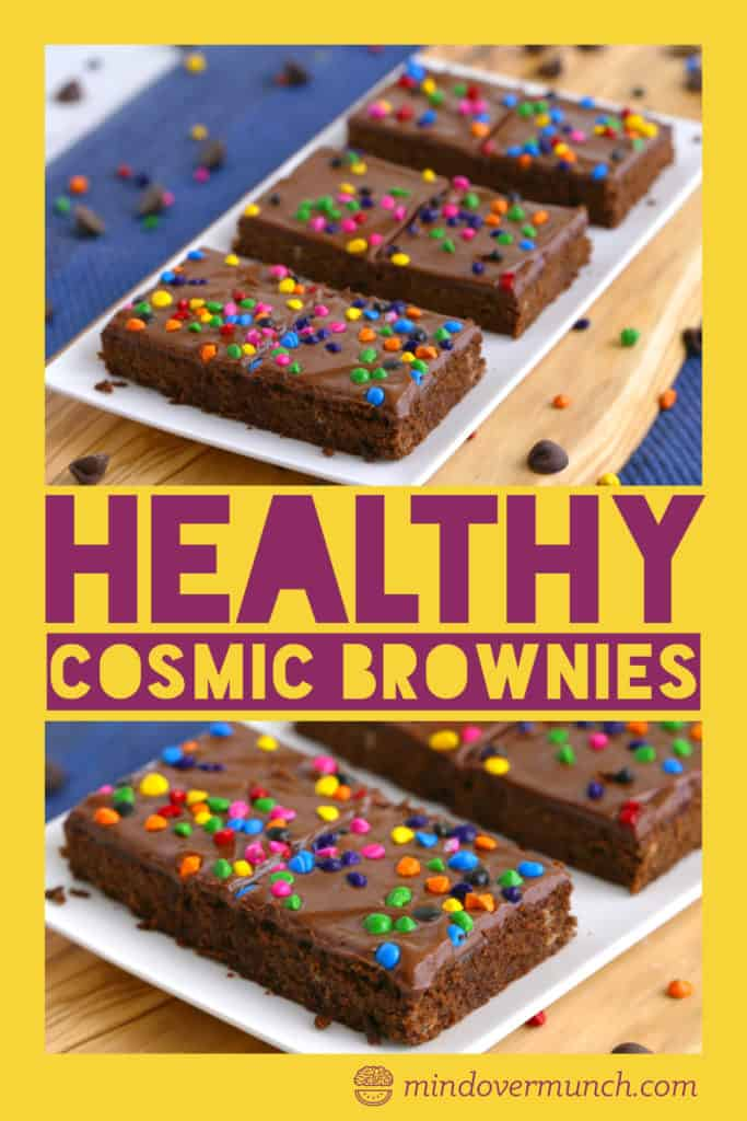 ... Homemade Cosmic Brownies ...